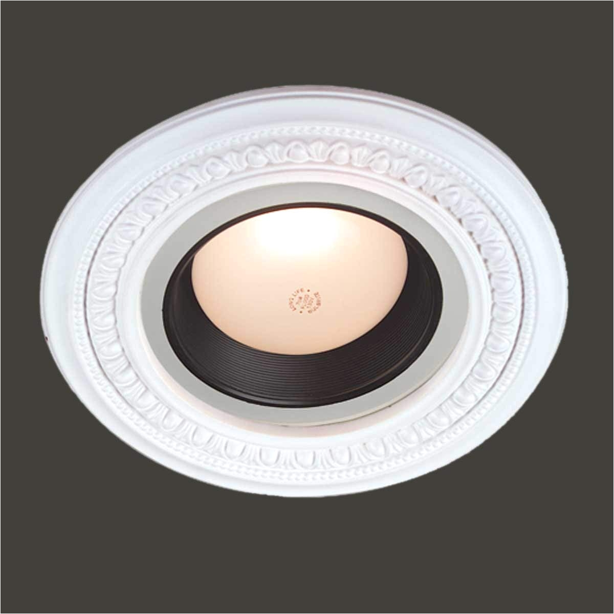 spot light ring white trim 5 id x 9 od mini medallion renovators supply recessed light fixture trims amazon com