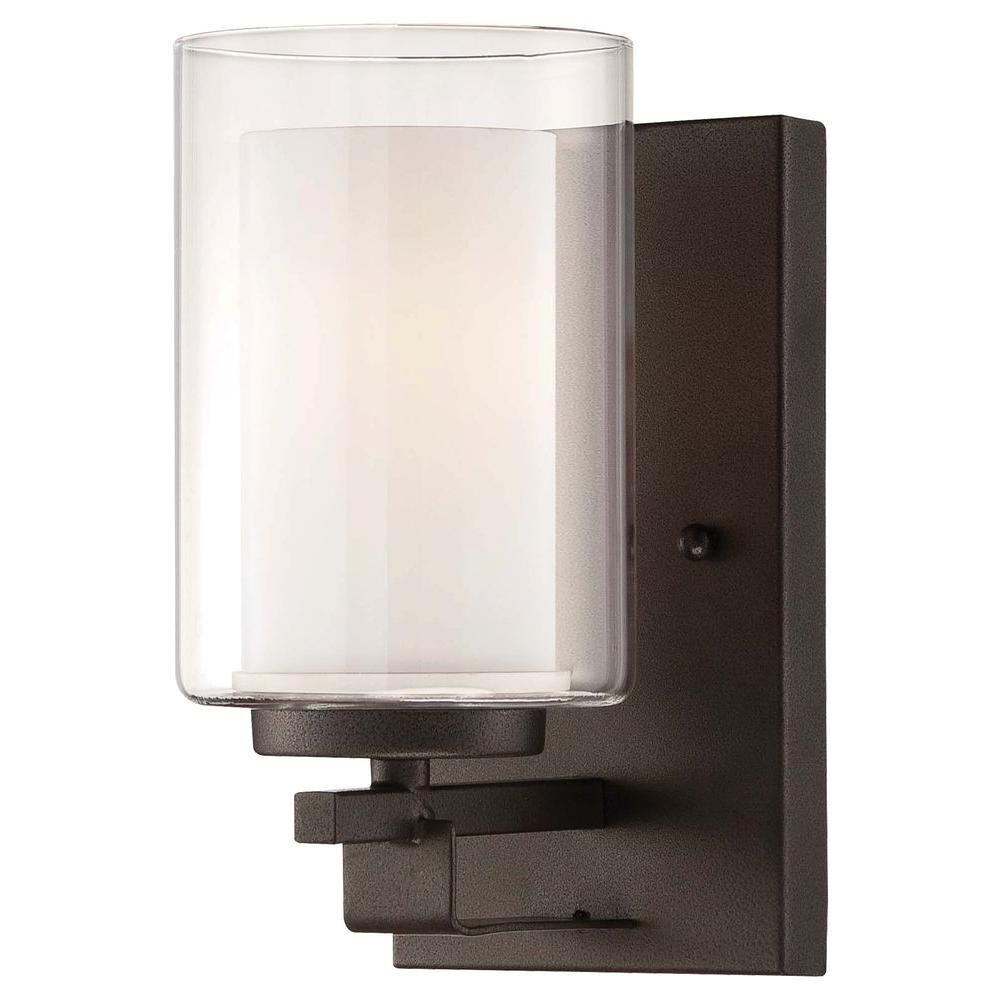 Rent Heat Lamps Minka Lavery Parsons Studio 1 Light Smoked Iron Bath Light 6101 172