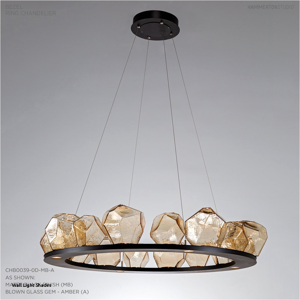 16 gem ring chandelier chb0039 0d hammerton studio best of wall light shades