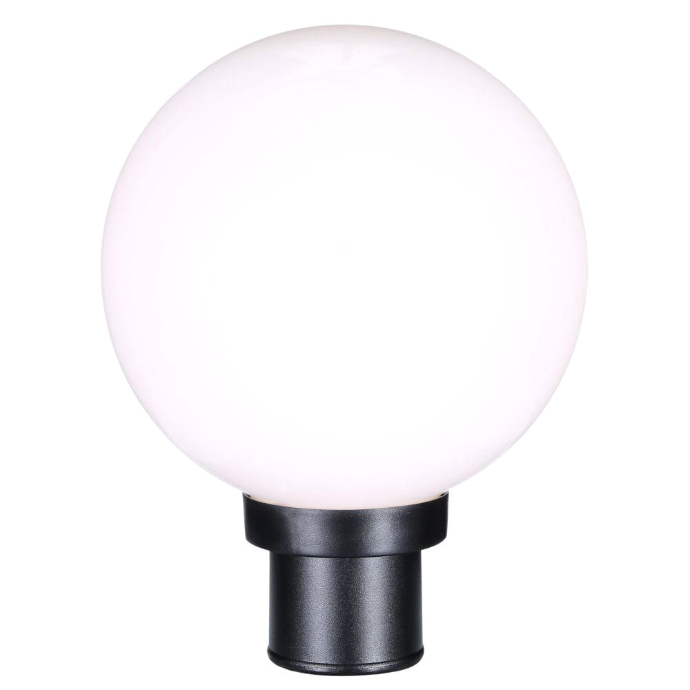 progress lighting globe collection 1 light black outdoor post lantern