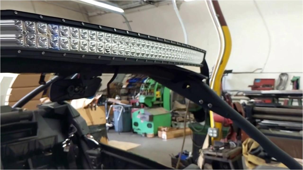 6kled custom led light bracket 2017maverick fit for 50 curved led bar