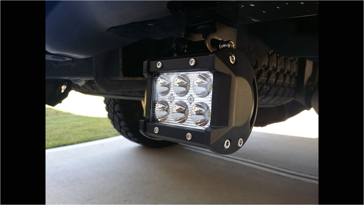 how to install rear f150 cree led reverse light bars f150leds com youtube
