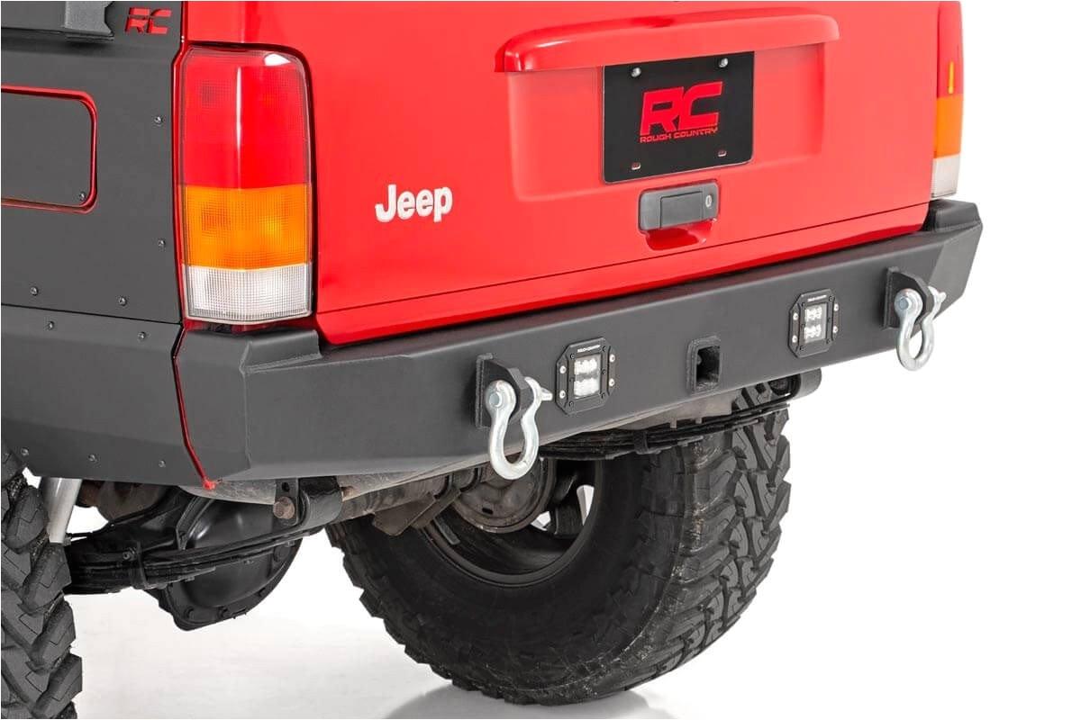 jeep rear led bumper 84 01 cherokee xj