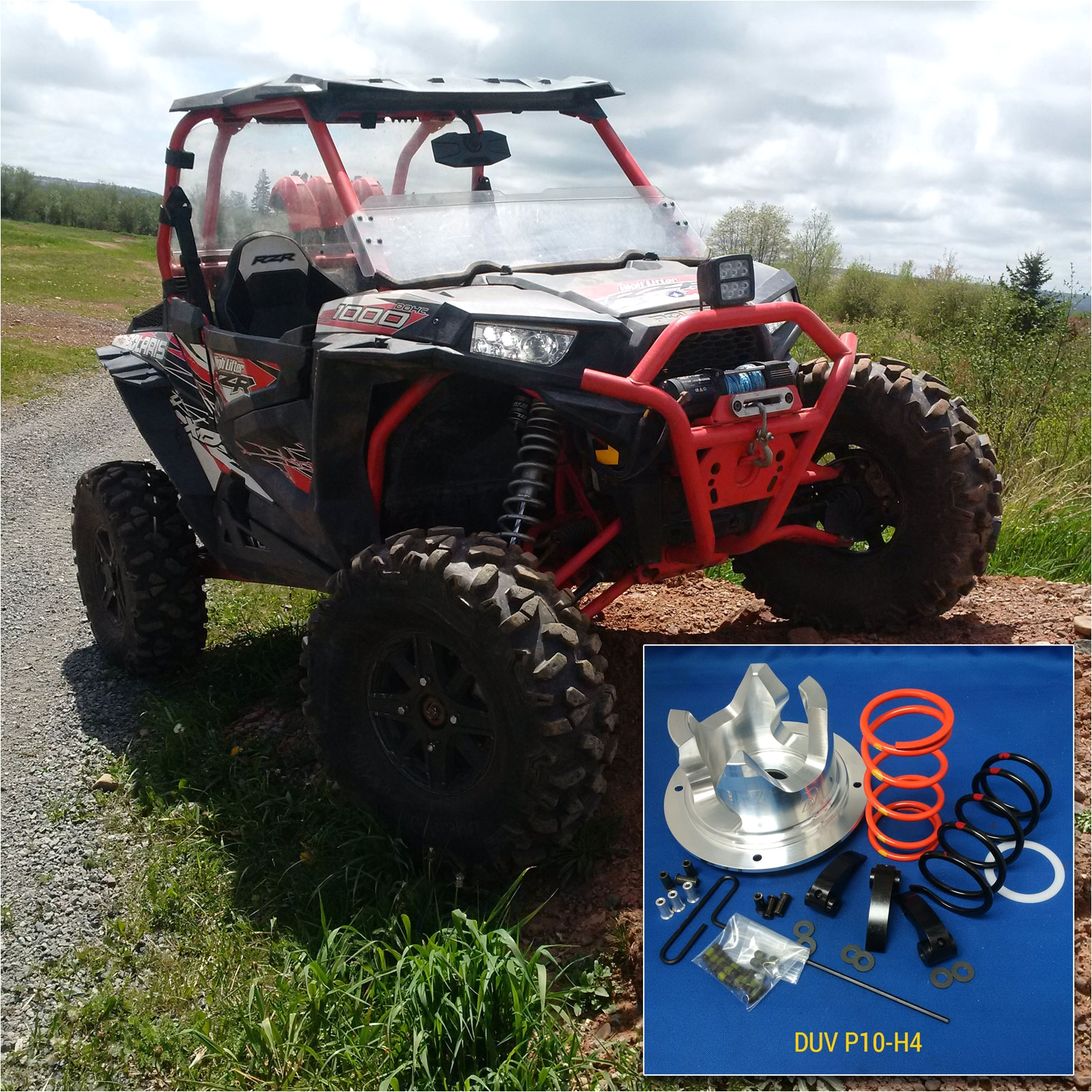 dalton pro adjustable clutch kit for polaris rzr xp4 1000 2016 2018 4 seat only