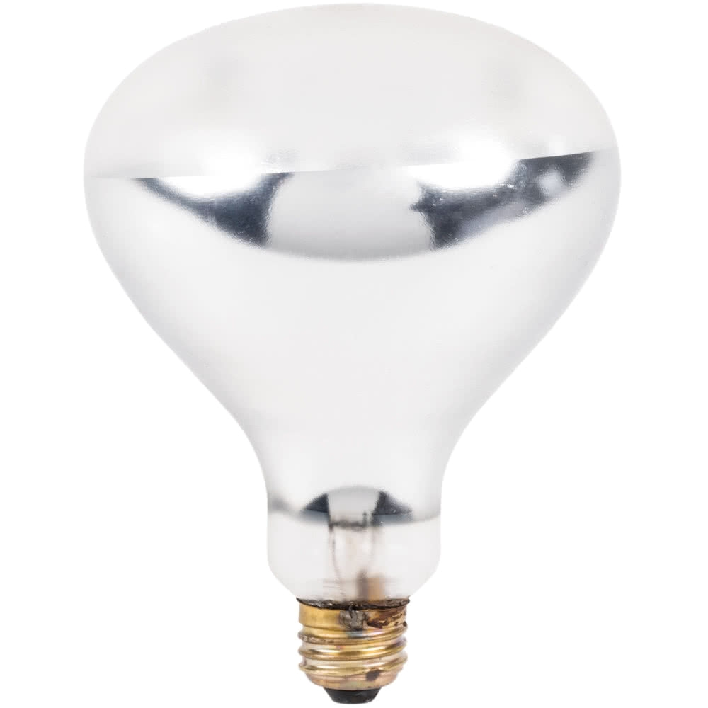 120 volts lavex janitorial 250 watt coated infrared heat lamp bulb