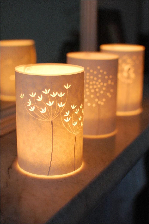 seed head candle lights