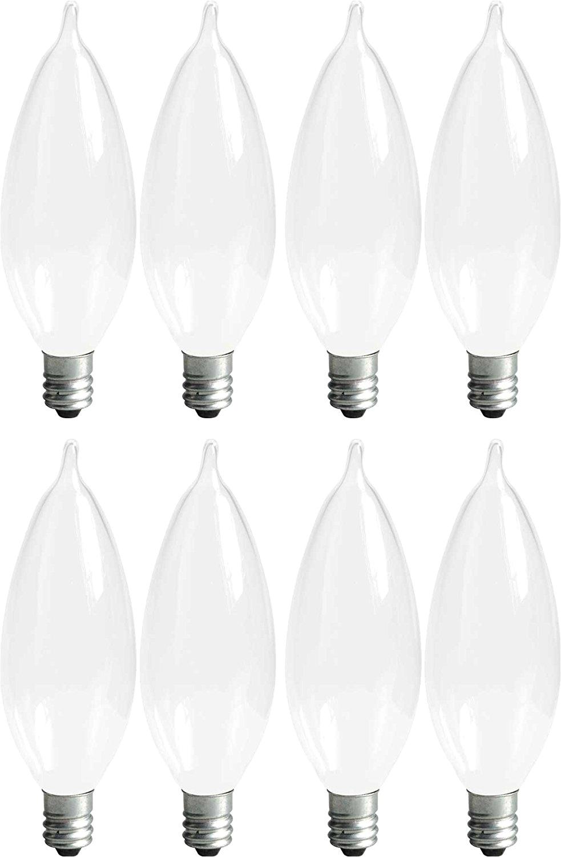 Silver Tipped Light Bulb Ge Lighting soft White 66105 25 Watt 215 Lumen Bent Tip Light Bulb