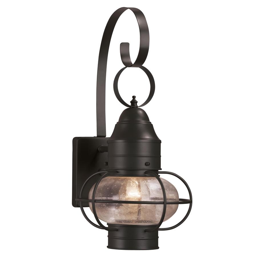 portfolio trevett 17 63 in h matte black outdoor wall light