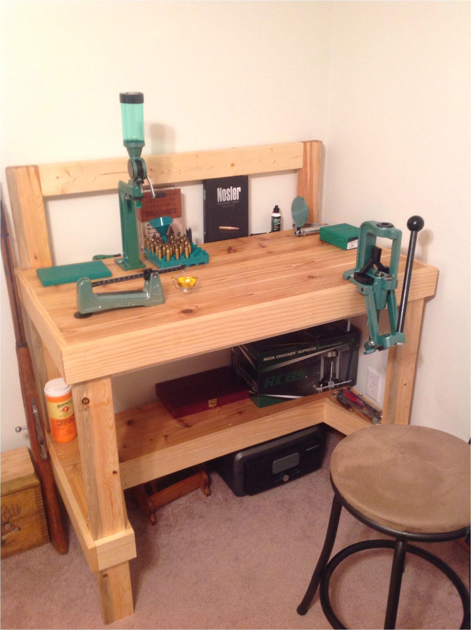 my reloading bench reloading table reloading bench plans woodworking bench plans reloading room