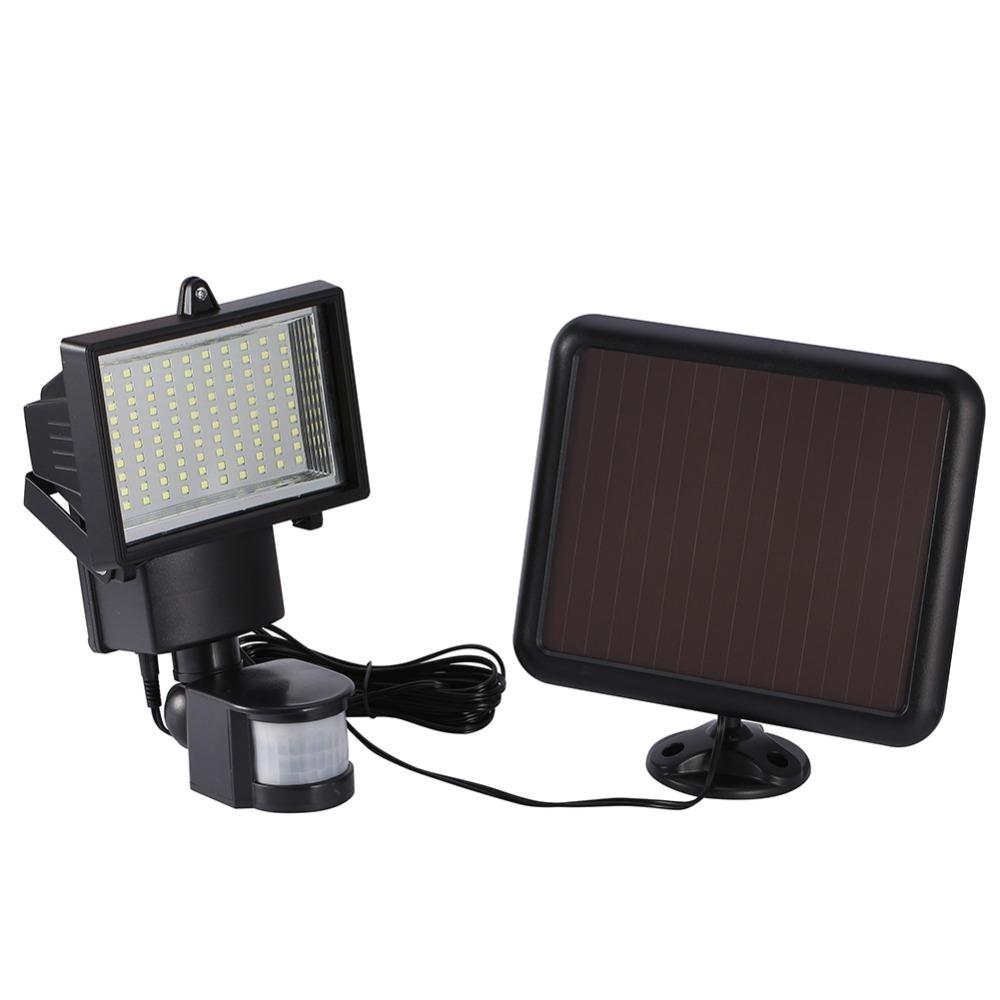 1 2v bright solar energy sensor wall lamp 100 led smd light for us 22 00