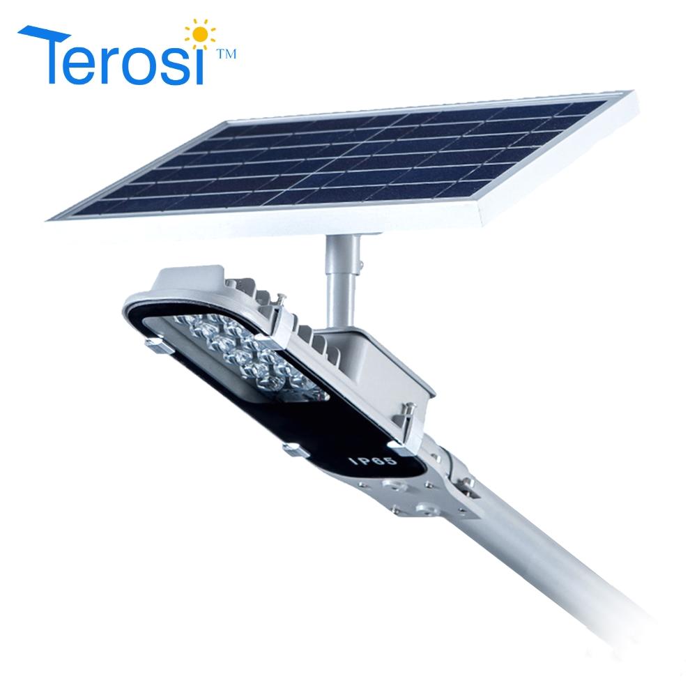 high quality ce rohs high power led solar street light ip65 10w solar power street light