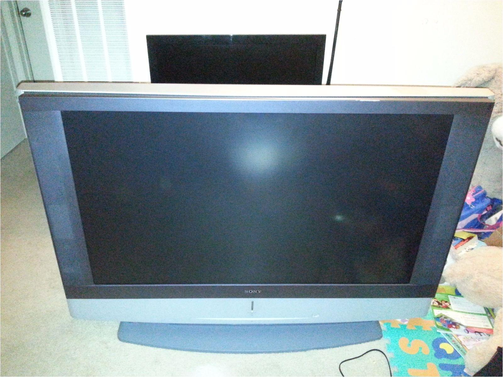 sony 50 hdtv ready rear projection lcd tv