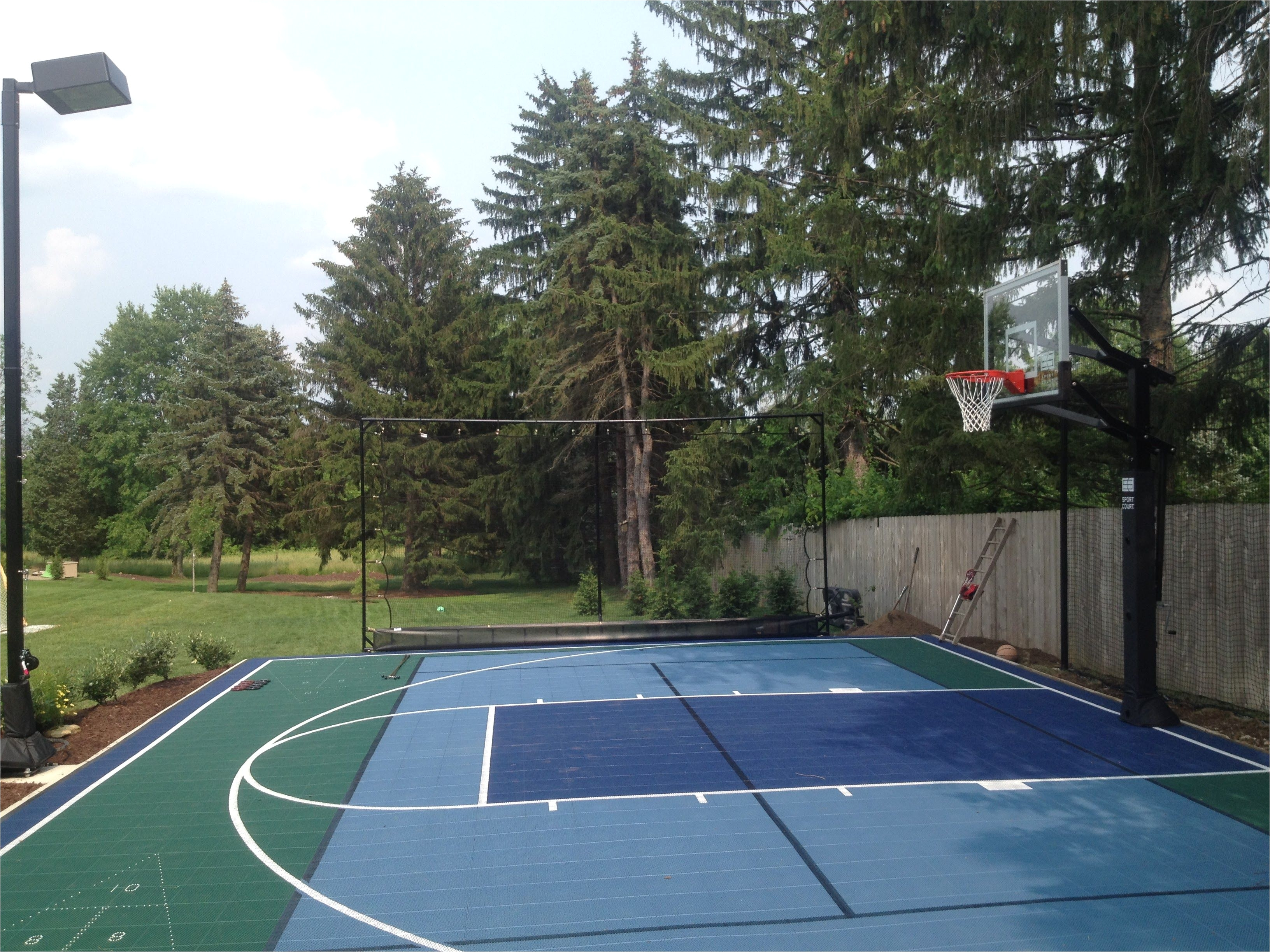 backyard tennis courtbackyard sportsbackyard playbackyard ideasbadmintonplay ideasthe planvolleyballhandball