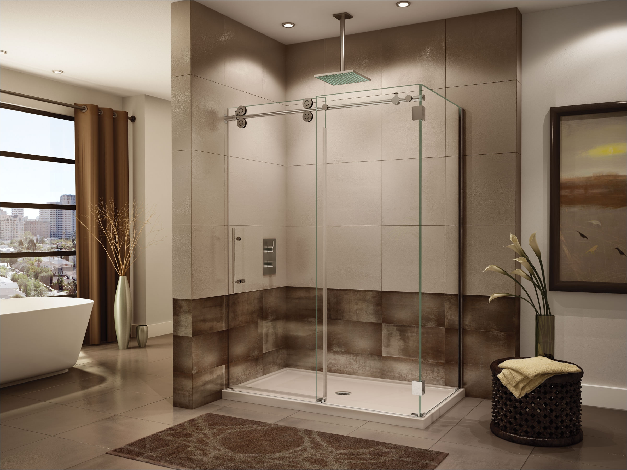 bathtub sliding glass doors luxury precision kinetic shower doors nj ny pa 732 389 8175