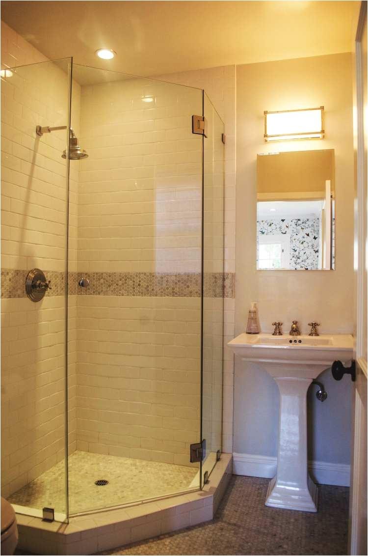 corner shower frameless glass shower door more