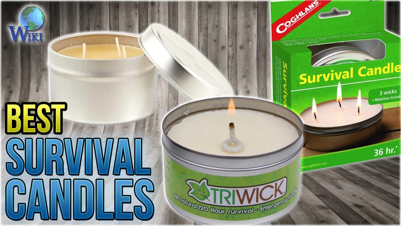 9 best survival candles