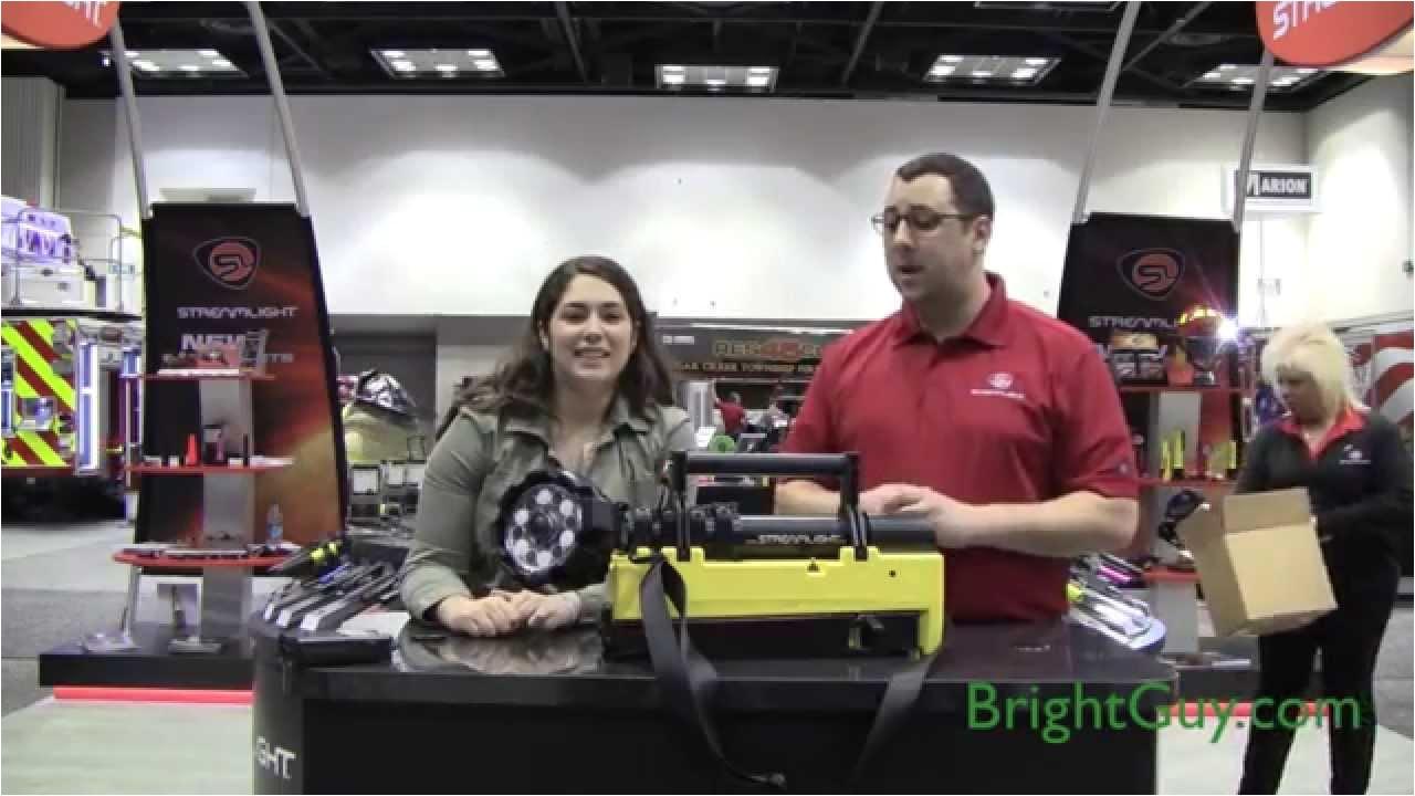 streamlight portable scene light demo fdic 2014