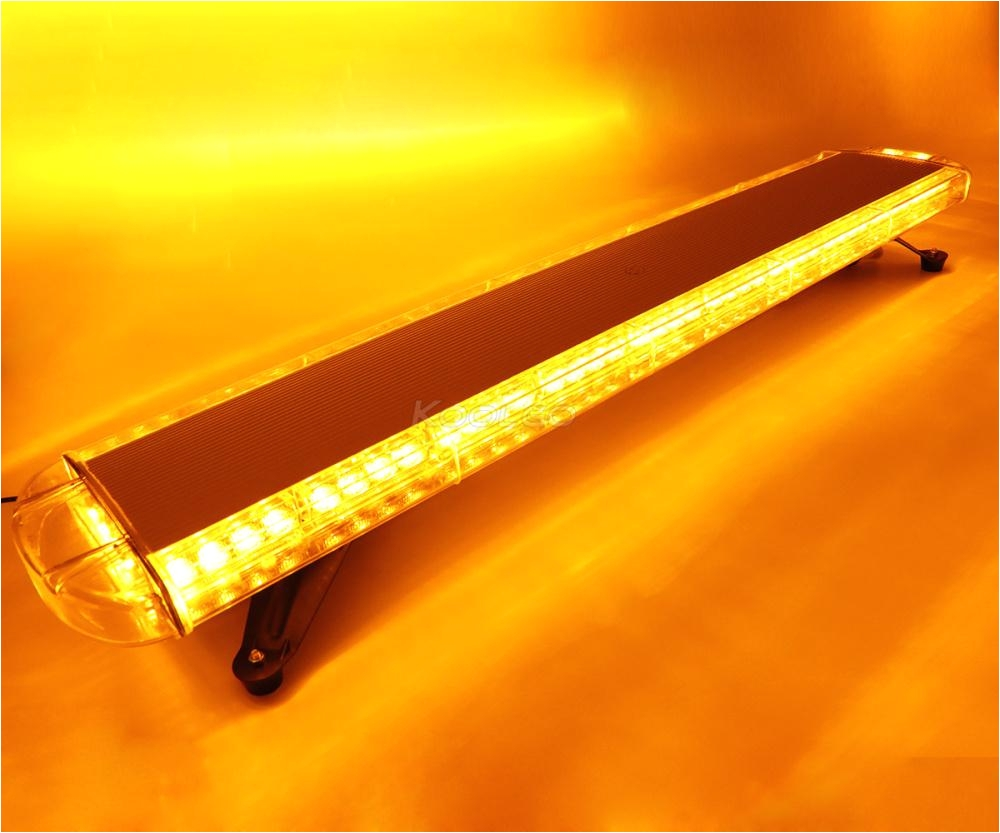 88w car truck led rooftop strobe light bar flash emergency warning beacon lamp lightbar amber white red blue led warning light led warning light kits from
