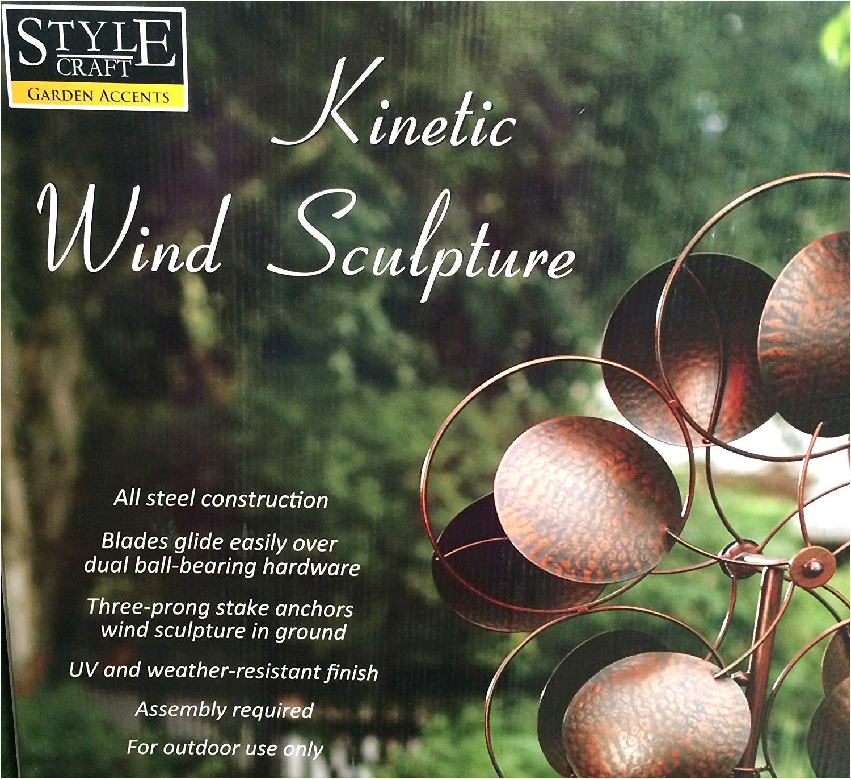 Stylecraft Lamps Kinetic Wind Sculpture Amazon Com Style Craft Kinetic Wind Sculpture Large 24 5