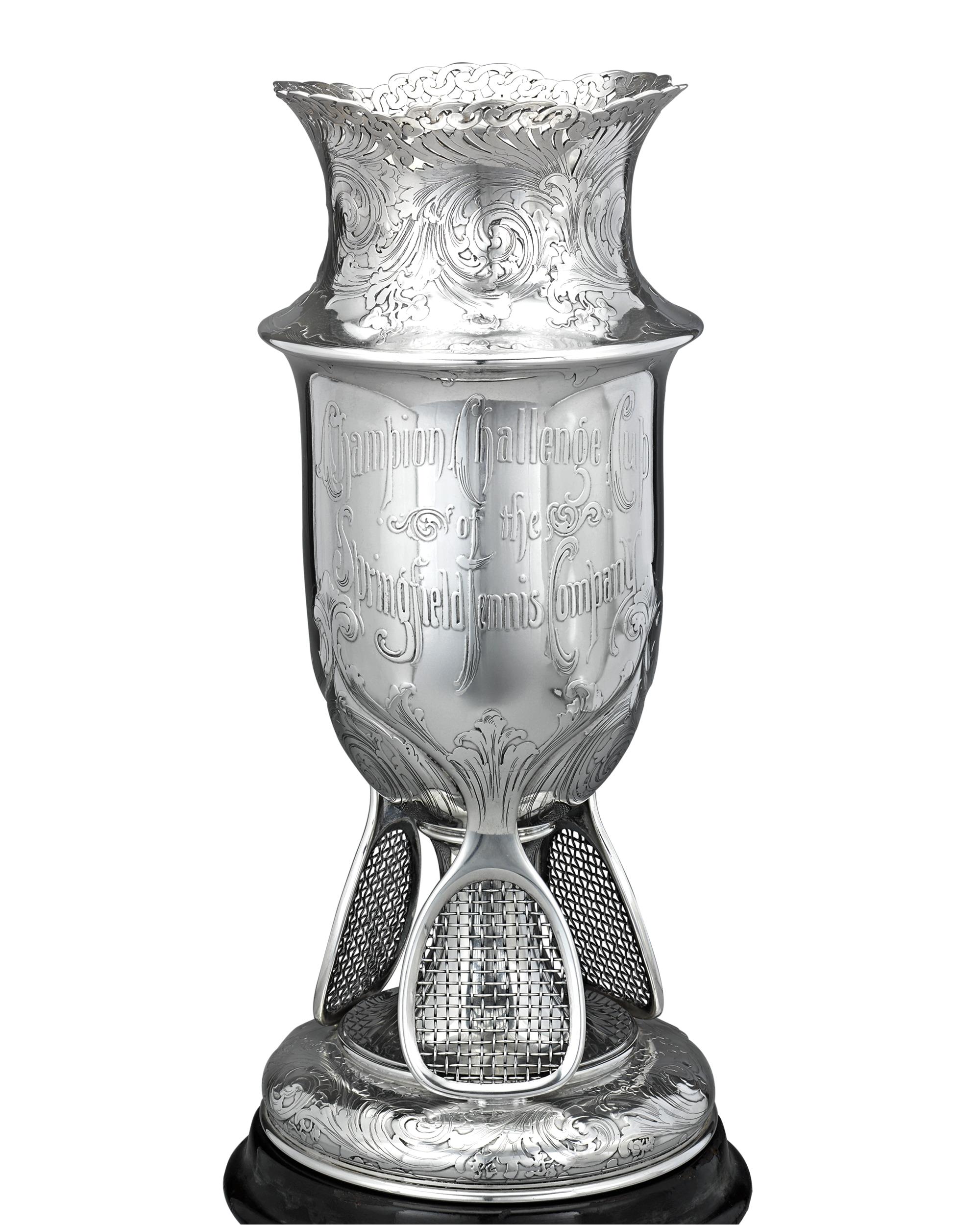 tiffany co silver tennis trophy