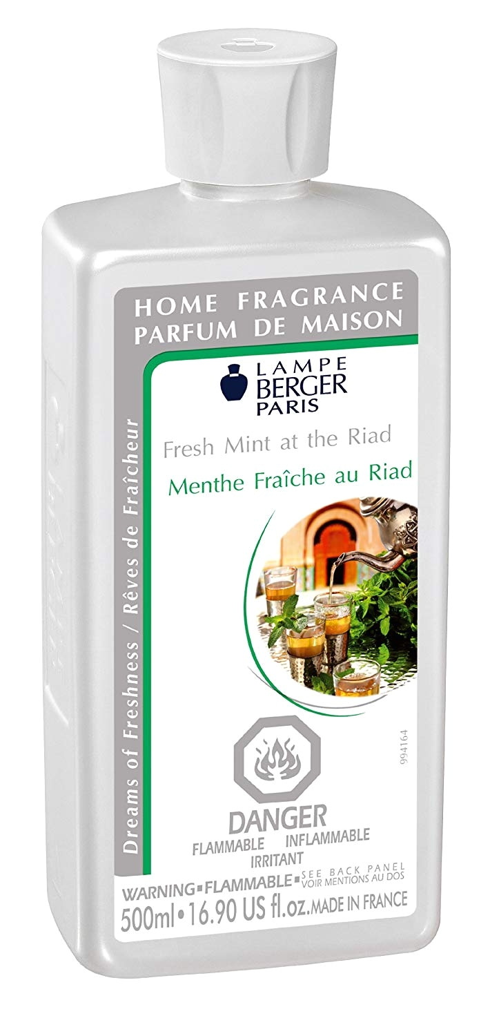 Top Rated Lampe Berger Scents Amazon Com Lampe Berger Fragrance Fresh Mint at the Riad 500ml
