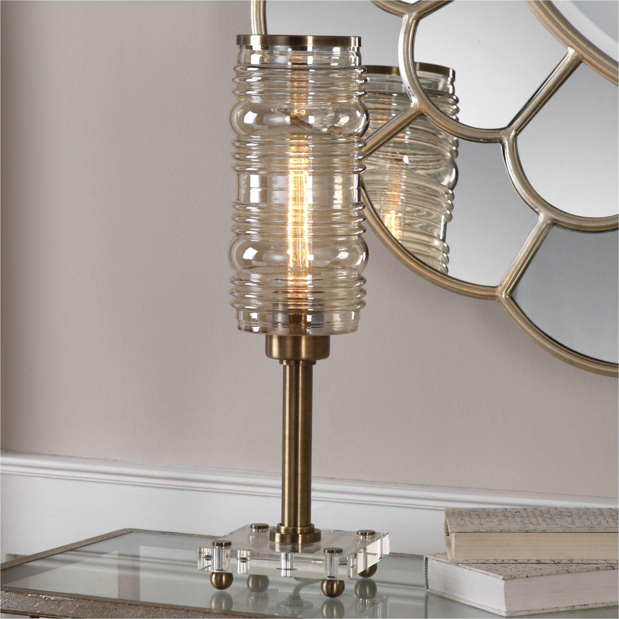 shop uttermost adelardo tubular bulb accent lamp free shipping today overstock com 13687514