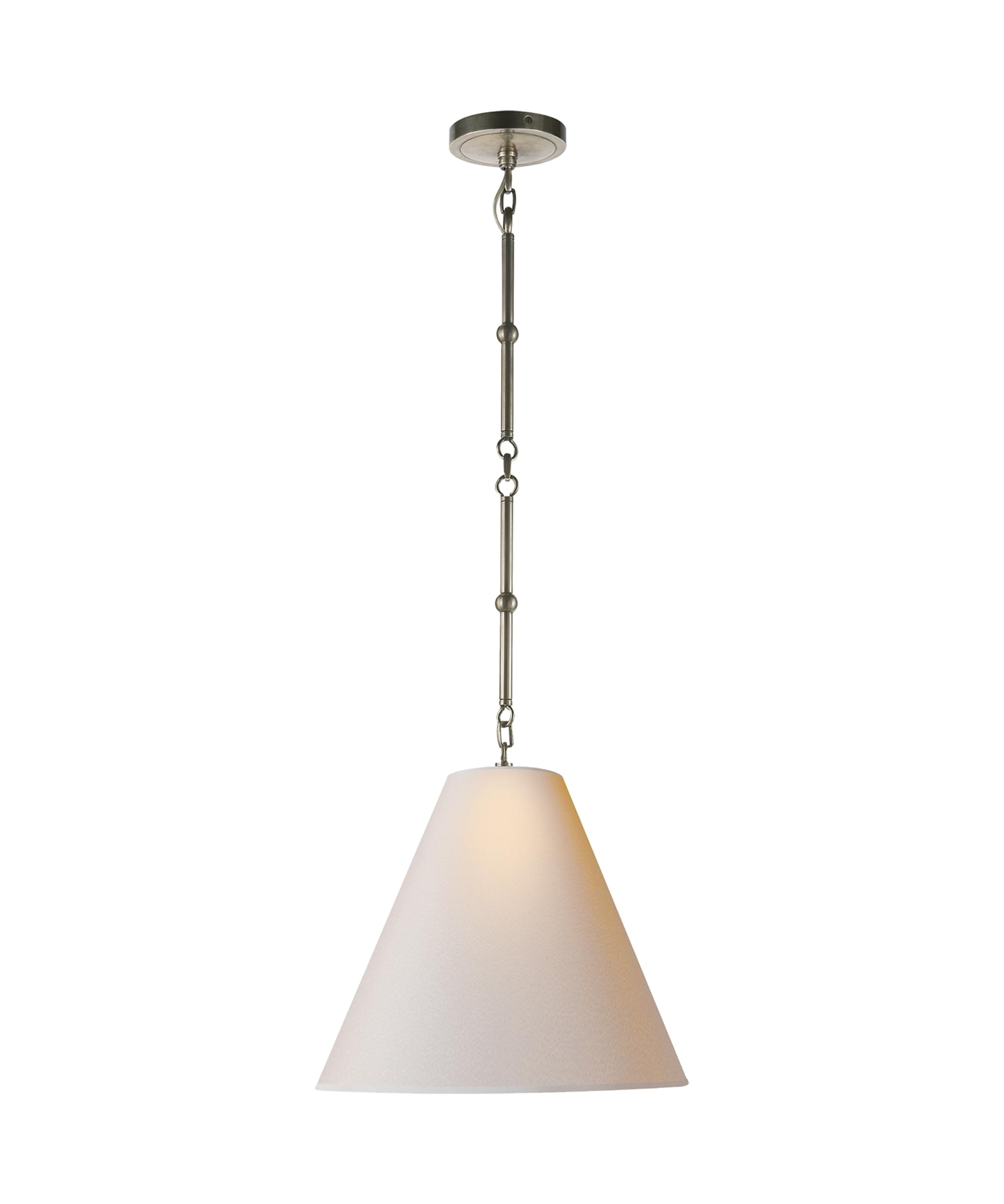 visual comfort tob5090 thomas obrien goodman 15 inch wide 1 light large pendant capitol lighting 1 800lighting com