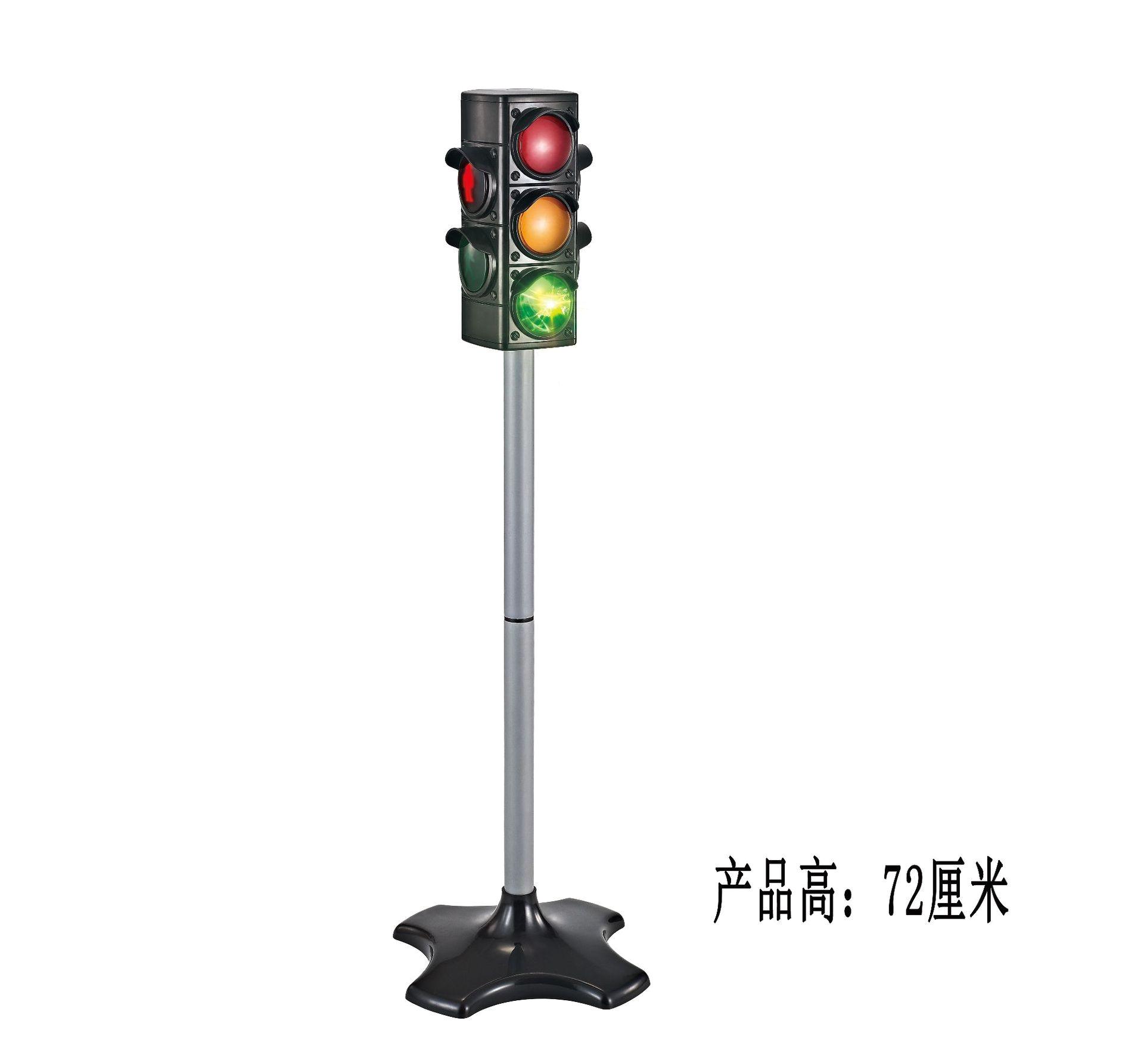72 cm simulasi bekerja lampu lalu lintas anak bermain peran komunikasi awal pendidikan lalu lintas diecasts