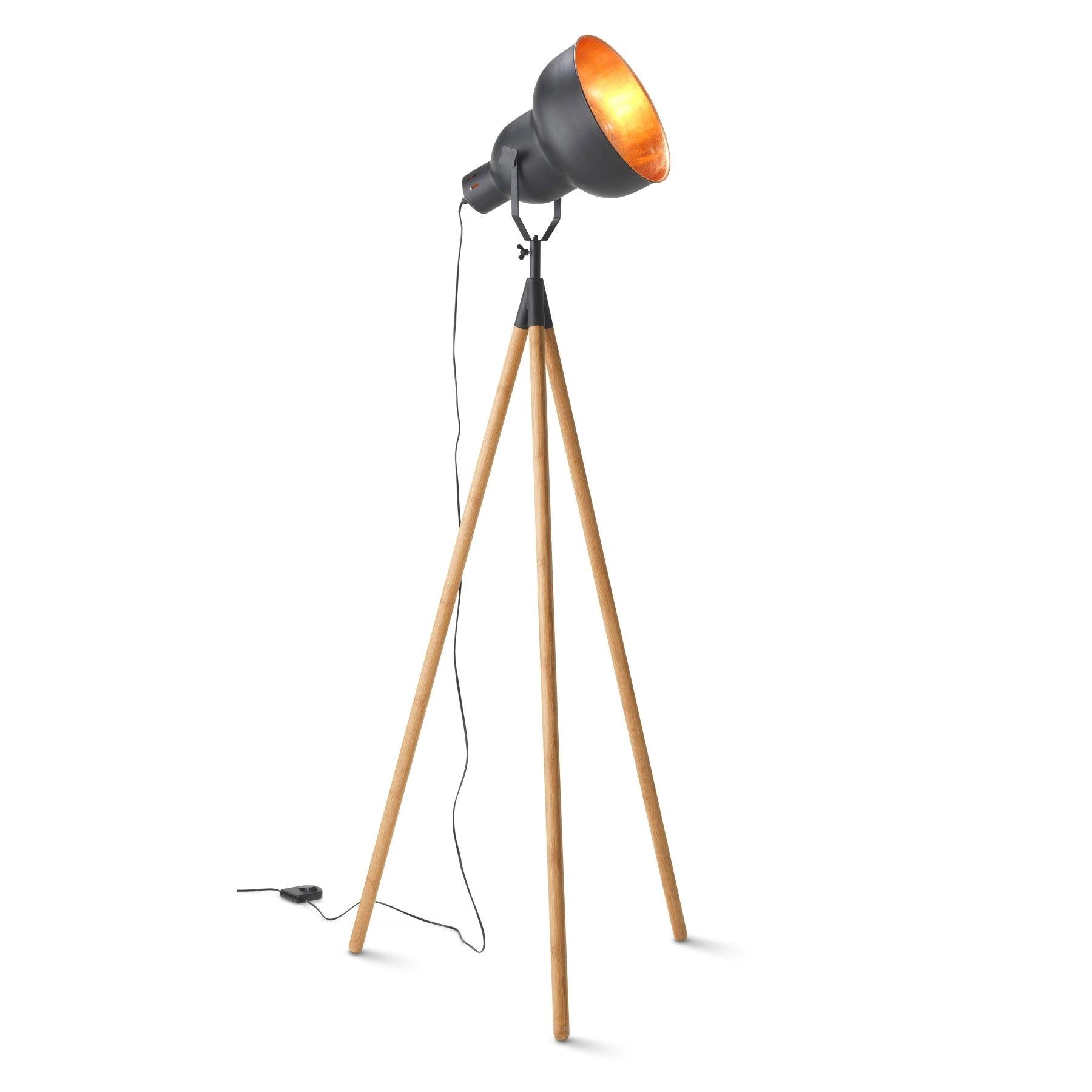 industry leg tripod floor lamp 149 00 milan direct