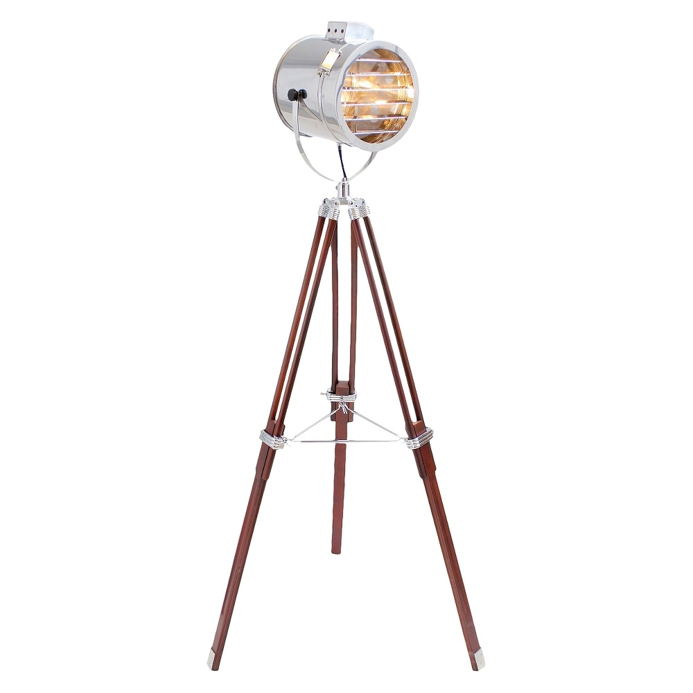 lumisource wood steel ahoy floor lamp