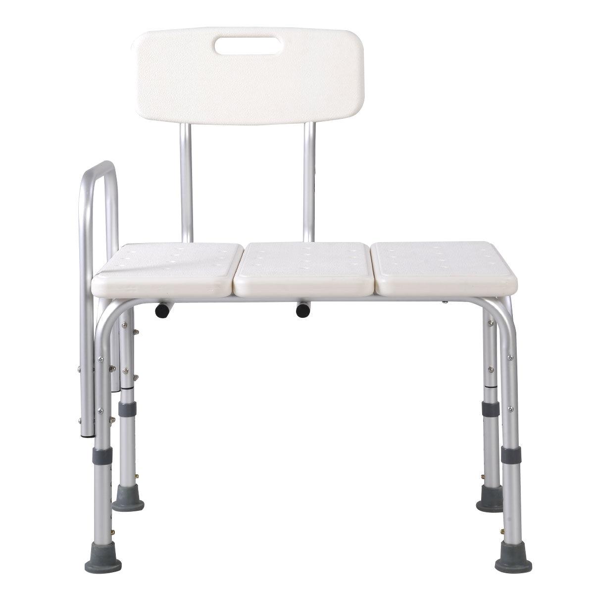 Tub Transfer Bench Walmart Goplus Shower Bath Seat Medical Adjustable Bathroom Bath Tub