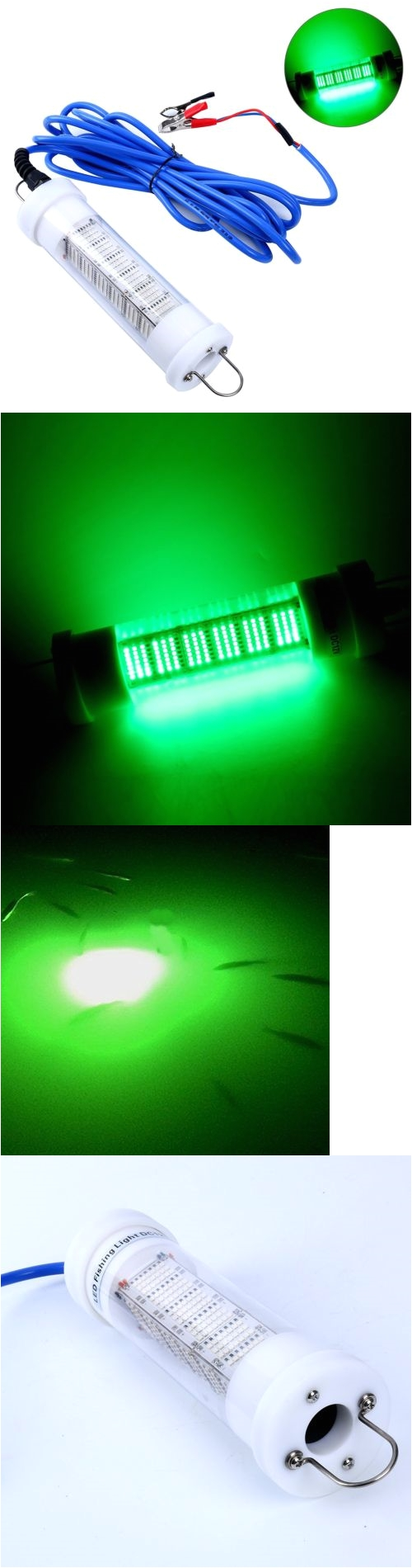 lights 123489 yaemarine green led 12v 170w lure bait finder night fishing submersible light
