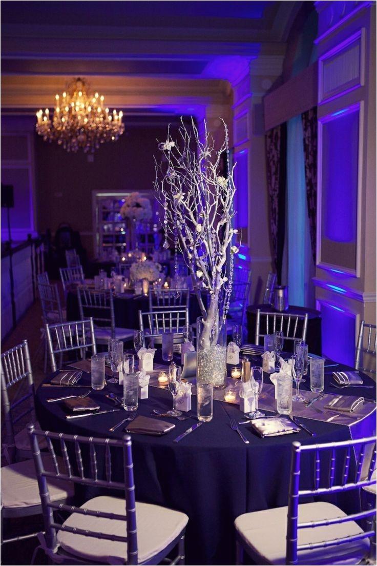stunning decor at this uplighting wedding reception diy centerpieces