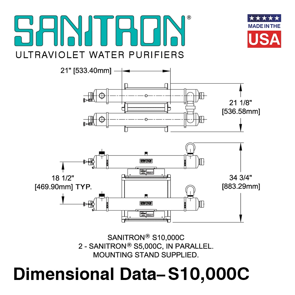 sanitrona uv water purifiers
