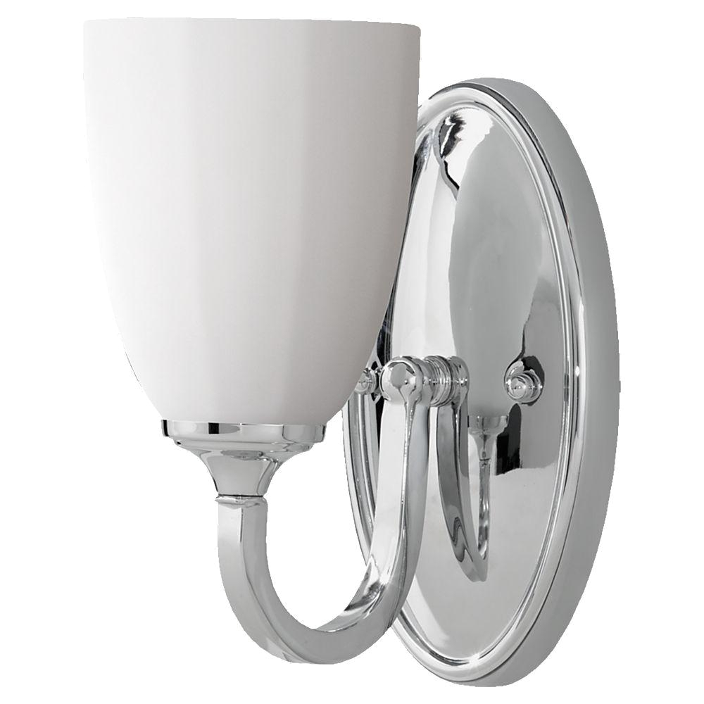feiss perry brushed steel vanity light