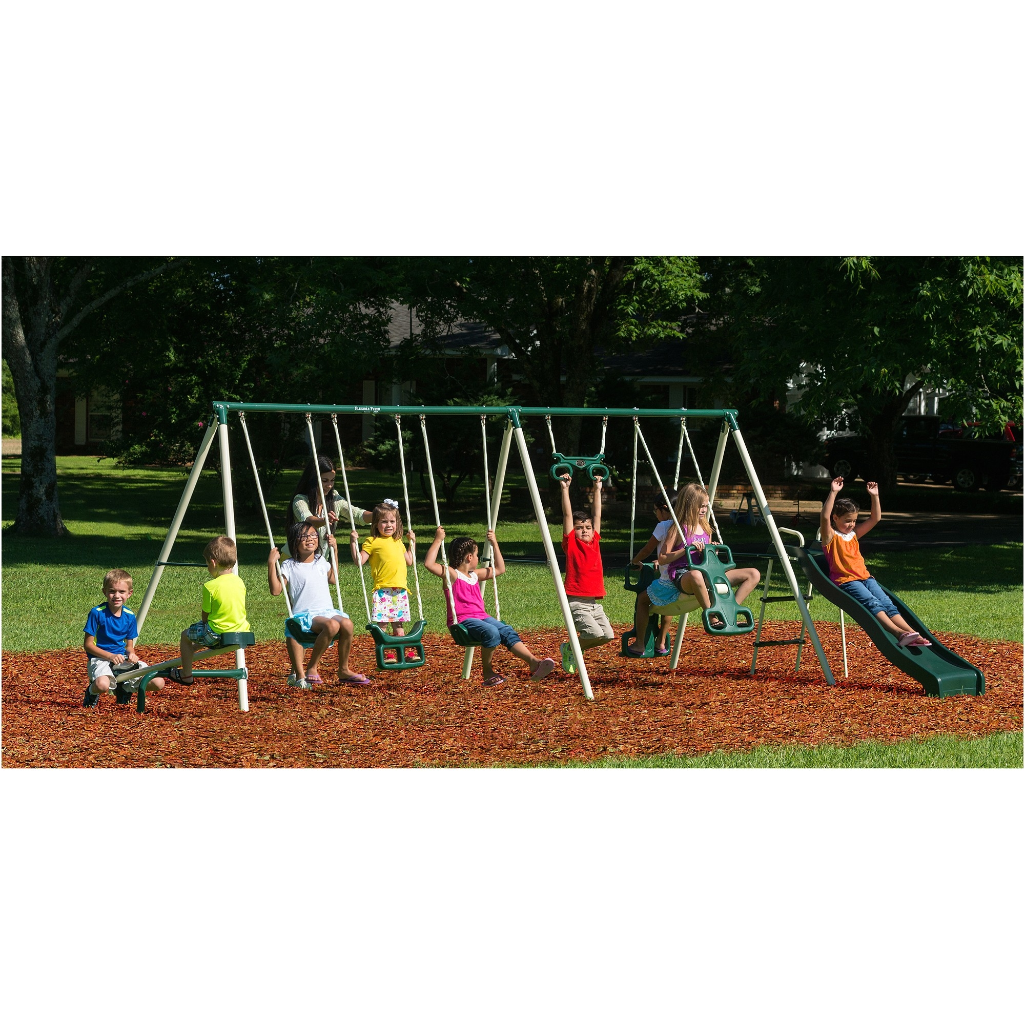 backyard swing sets walmart home design wooden swing sets at walmart luxury metal playsets