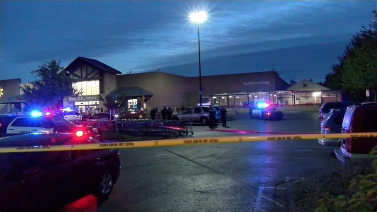 salem police investigate shooting in walmart parking lot news kptv com
