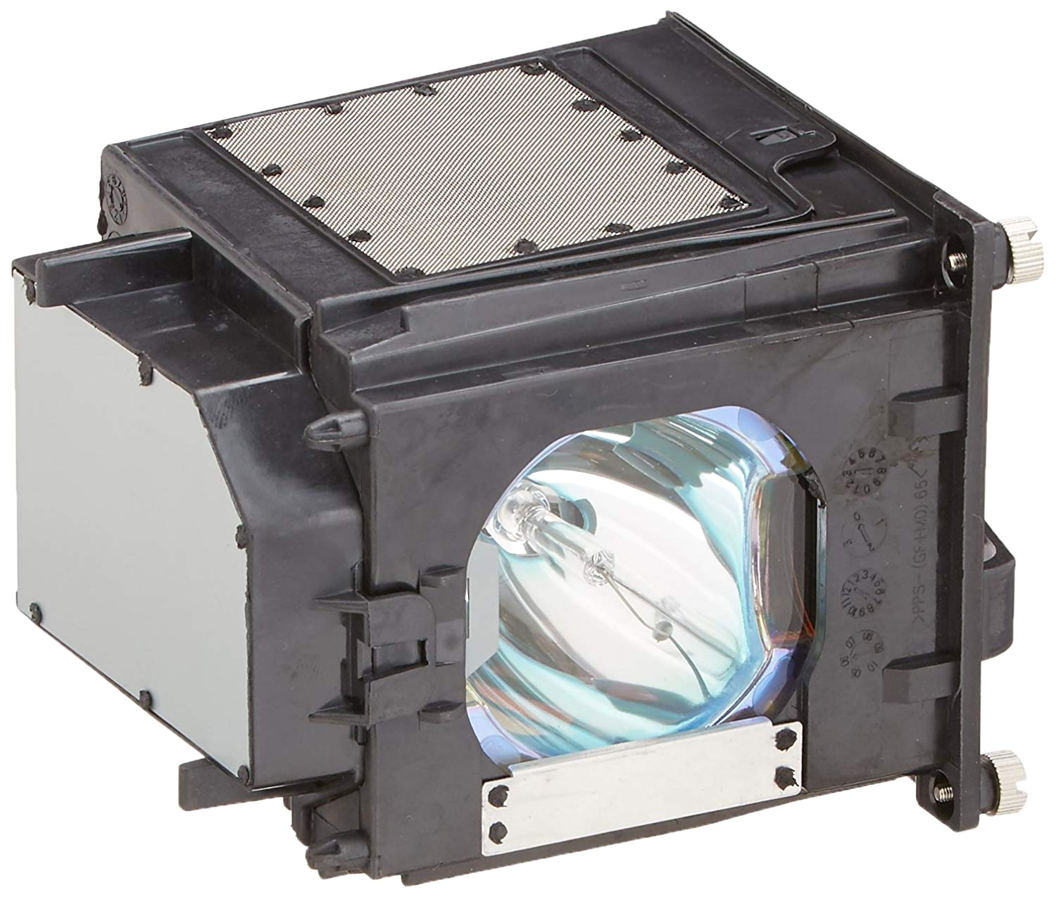 amazon com mitsubishi wd 65831 rear projector tv lamp with housing replacement lamp electronics