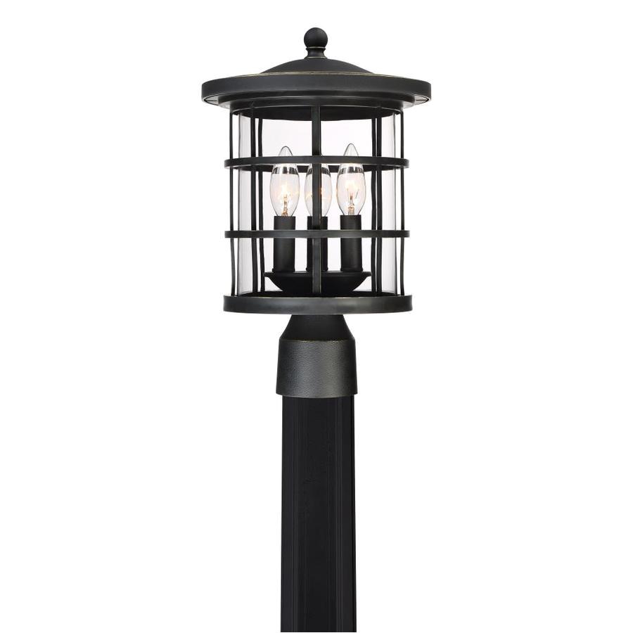 quoizel asheville 15 3 in h bronze post light