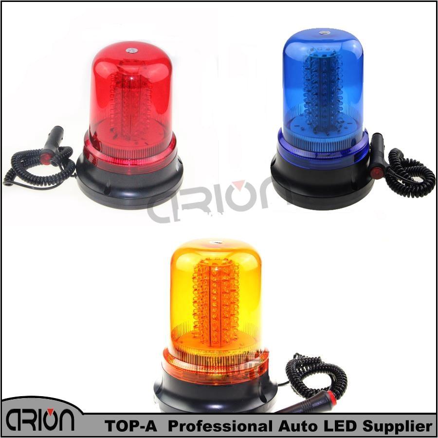 2016 car truck 120 led 60w amber blue red magnetic emergency warning led light police fireman 12v strobe lights lamp car strobe light lamp emergency