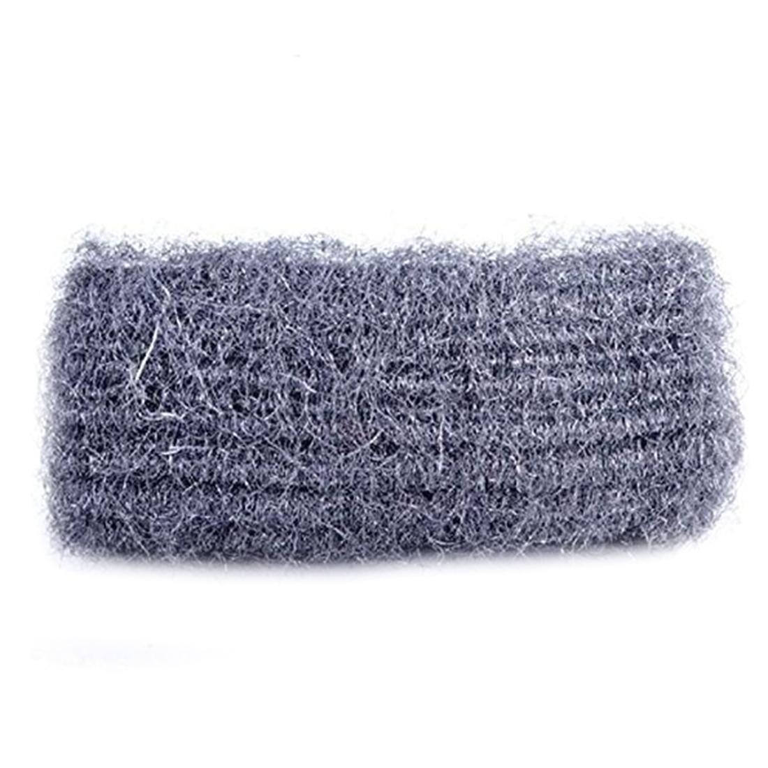 Wool Light Detergent Sponge Metal Mesh Super Detergent tool 12pcs Lot Kitchen Steel Wool