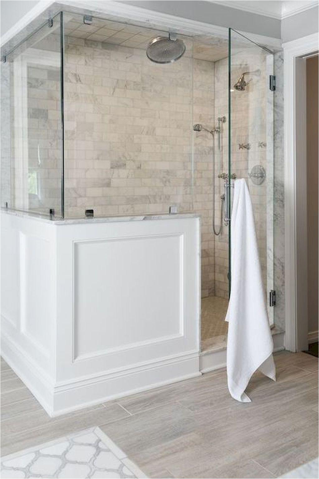 Bathroom And Closet Design Ideas 85 Farmhouse Master Bathroom Decor