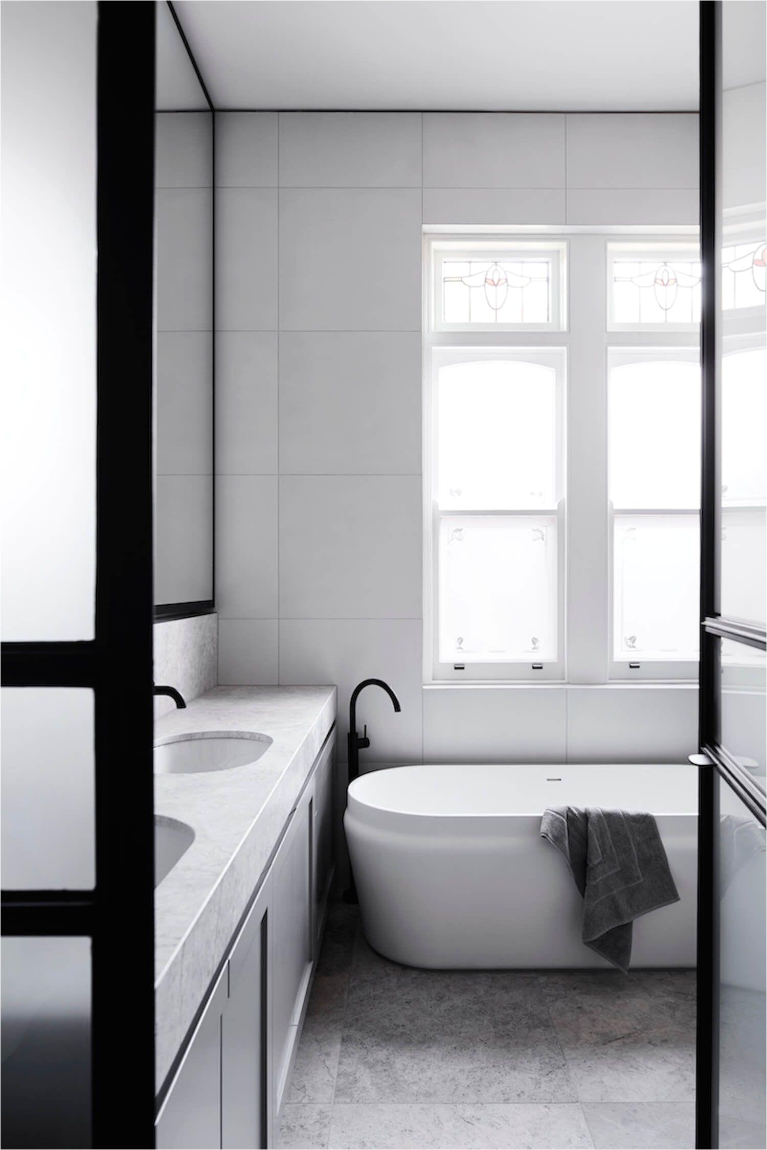 Bathroom Elsternwick Home by Mim Design
