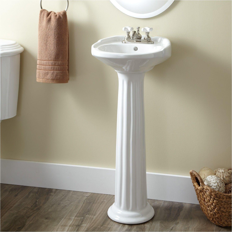 Ultra Petite Victorian Pedestal Sink Pedestal Sinks Bathroom Sinks Bathroom