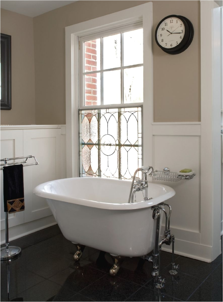 Clawfoot tubs are some of the most attractive features in almost all bathroom designs They are classic stylish and beautiful and they blend in perfectly