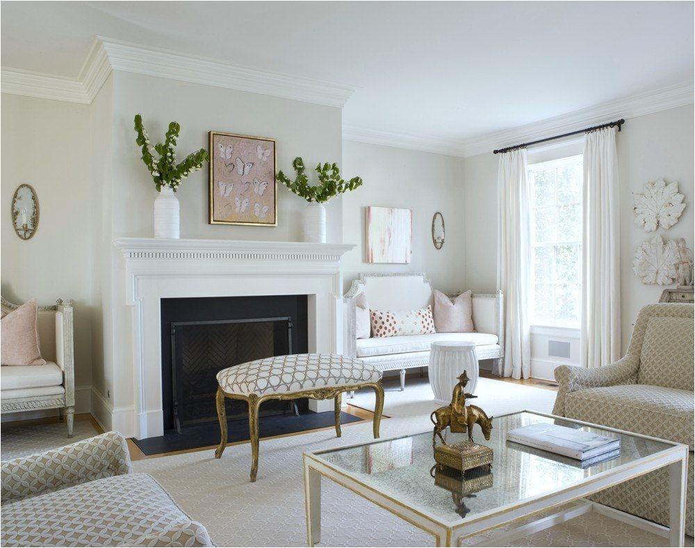 Nine Fabulous Benjamin Moore Warm Gray Paint Colors laurel home fresh classic living room by Ivy Lane
