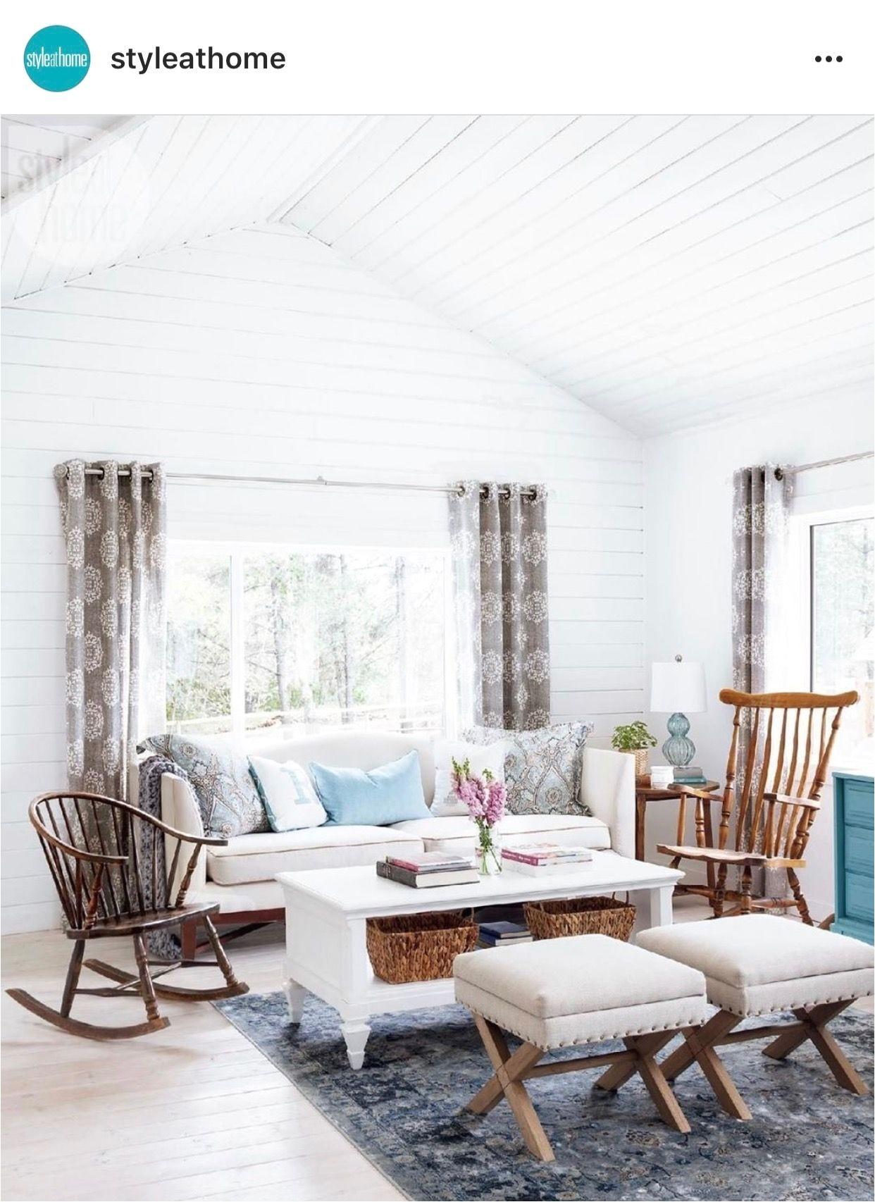 "Cabin Living Room Decor Save Pin Od Pou…¾vate""¾a Kim Na Nástenke Cabin Living Room Design"