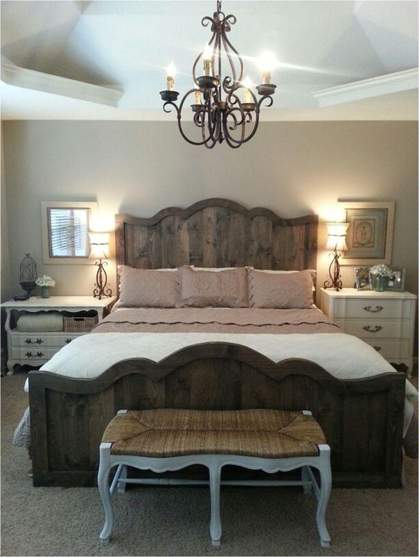 Cozy Cabin Bedroom Decoration Ideas18