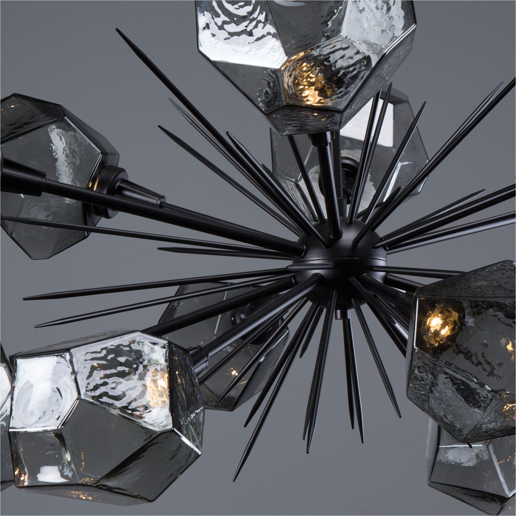 Dining Room Light Fixture Glass Inspirationa Gem Oval Starburst Chandelier Plb0039 0d