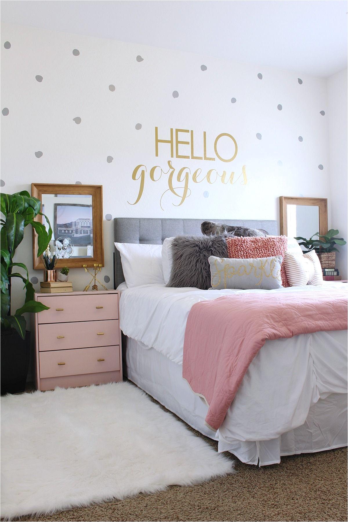 Cute Girls Bedroom Ideas Surprise Teen Girl S Bedroom Makeover